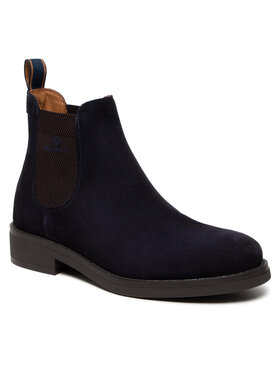 Gant Gant Kotníková obuv s elastickým prvkem Brookly 23653178 Tmavomodrá