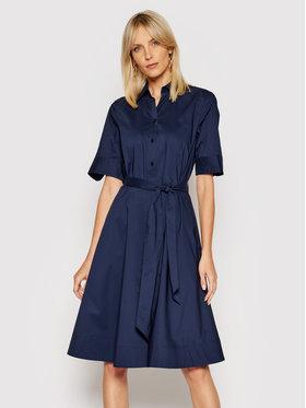 Lauren Ralph Lauren Lauren Ralph Lauren Sukienka koszulowa 200748950004 Granatowy Regular Fit