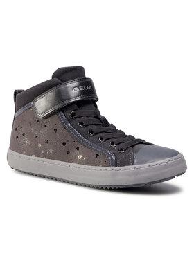 Geox Geox Sneakers aus Stoff J Kalispera G.I J744GI 0DHAS C9017 D Grau