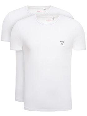 Guess Guess Σετ 2 T-Shirts Hero U97G02 JR003 Λευκό Slim Fit