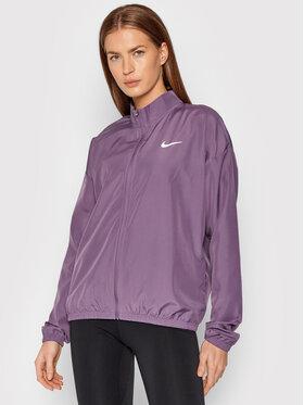 Nike Nike Kurtka do biegania Swoosh Packable DD4925 Fioletowy Regular Fit