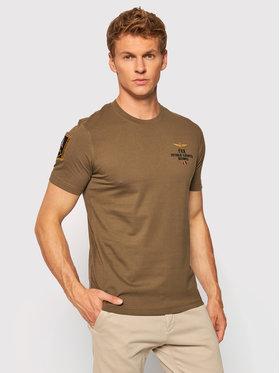 Aeronautica Militare Aeronautica Militare T-shirt 212TS1902J511 Verde Regular Fit