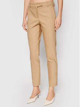 Marella Marella Pantaloni chino Propos 31360218 Bej Regular Fit