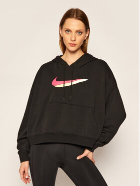 NIKE NIKE Sweatshirt Sportswear CU5108 Schwarz Oversize