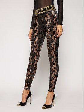 Versace Jeans Couture Versace Jeans Couture Colanți D5HZB161 Maro Slim Fit