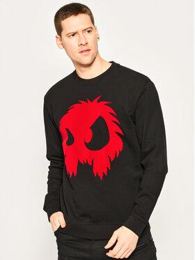 MCQ Alexander McQueen MCQ Alexander McQueen Sweatshirt 545415 ROT31 1091 Schwarz Regular Fit