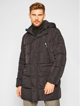 Geox Geox Parka Hilstone M0428B T2666 F9000 Μαύρο Regular Fit