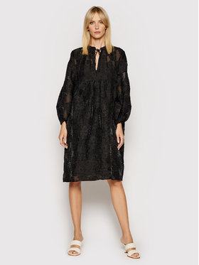 Samsøe Samsøe Samsøe Samsøe Vestito da giorno Mynthe F00002117 Nero Loose Fit