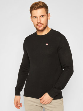 Napapijri Napapijri Sweater Damavand C 2 NP0A4EMW Fekete Regular Fit