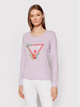 Guess Guess Bluse Nelli W1YI97 JA911 Violett Regular Fit