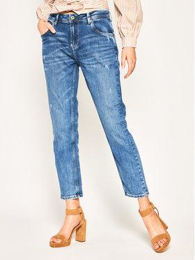 Pepe Jeans Pepe Jeans Jeansy Regular Fit PL201742 Niebieski Carrot Fit