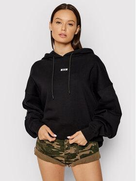 MSGM MSGM Sweatshirt 2000MDM509 200001 Schwarz Regular Fit