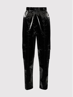 Remain Remain Spodnie materiałowe Taxus RM417 Czarny Relaxed Fit