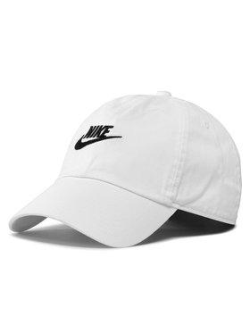 Nike Nike Kepurė su snapeliu 913011100 Balta