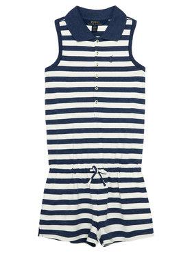 Polo Ralph Lauren Polo Ralph Lauren Ολόσωμη φόρμα Polo Romper 311785528001 Μπλε Regular Fit