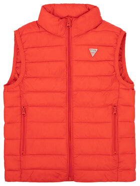 Guess Guess Gilet H93T01 WCAO0 Rouge Regular Fit