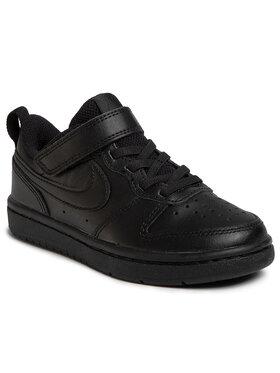 Nike Nike Topánky Court Borough Low 2 (PSV) BQ5451 001 Čierna