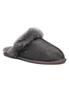 Ugg Ugg Pantofole W Scuffette II Caviar 1114533 Grigio