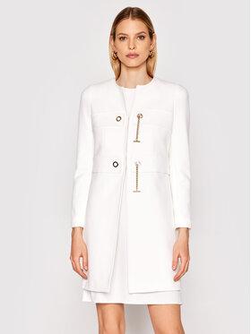 Rinascimento Rinascimento Преходно палто CFC0102462003 Бял Regular Fit