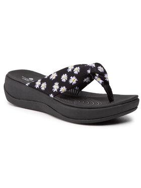 Clarks Clarks Flip-flops Arla Glison 261569494 Fekete