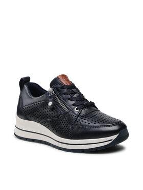 Tamaris Tamaris Sneakersy 1-23740-26 Granatowy