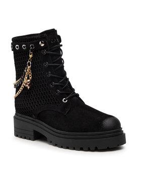 Carinii Carinii Outdoorová obuv B7463 Čierna