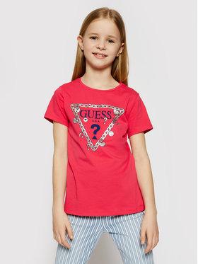 Guess Guess T-shirt J1RI19 K6YW1 Rosa Regular Fit