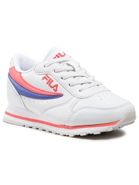 Fila Fila Sneakersy Orbit Low Kids 1010783.94Q Biela