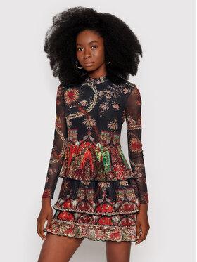 Desigual Desigual Každodenní šaty MONSIEUR CHRISTIAN LACROIX Berlin 21WWVK65 Černá Regular Fit