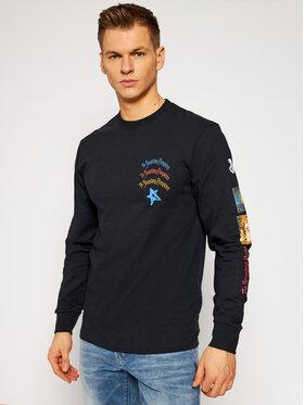 HUF HUF Тениска с дълъг ръкав THE SMASHING PUMPKINS Bullet TS01401 Черен Regular Fit