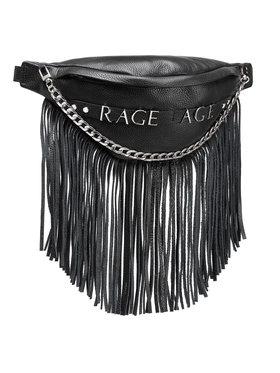 Rage Age Rage Age Τσαντάκι μέσης Fringe Μαύρο