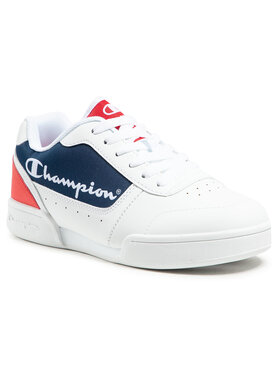 Champion Champion Sneakers Low Cut Shoe Court Champ B Gs S31925-S21-WW001 Weiß