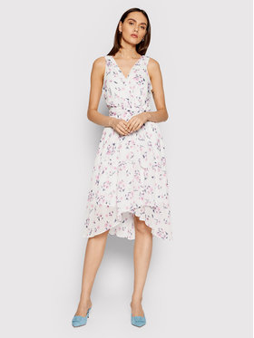 DKNY DKNY Ljetna haljina DD0BY576 Bijela Regular Fit