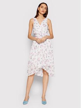 DKNY DKNY Sukienka letnia DD0BY576 Biały Regular Fit