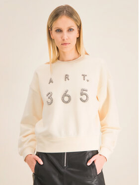 Marella Marella Sweatshirt Cavallo 39210101 Jaune Regular Fit