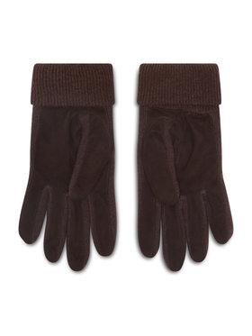 Polo Ralph Lauren Polo Ralph Lauren Pánské rukavice Suede Sandwich Glove 449833580002 Hnědá