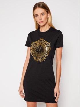 Versace Jeans Couture Versace Jeans Couture Sukienka codzienna D2HWA4FA Czarny Regular Fit
