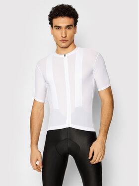 Quest Quest Dviratininko marškinėliai Superfly Balta Slim Fit