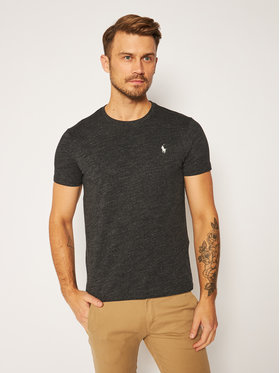 Polo Ralph Lauren Polo Ralph Lauren T-Shirt Classics 710671438164 Czarny Slim Fit