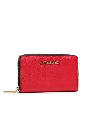 LOVE MOSCHINO LOVE MOSCHINO Veľká dámska peňaženka JC5559PP06LQ0500 Červená
