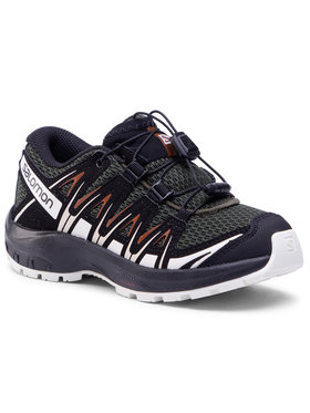 Salomon Salomon Trekingová obuv Xa Pro 3D J 410424 09 W0 Zelená