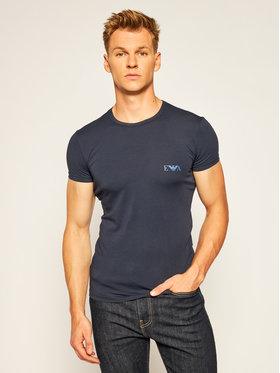 Emporio Armani Underwear Emporio Armani Underwear 2 póló készlet 111670 0A715 71035 Sötétkék Slim Fit