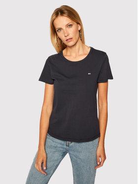 Tommy Jeans Tommy Jeans T-Shirt Tjw Soft Jersey DW0DW06901 Σκούρο μπλε Regular Fit