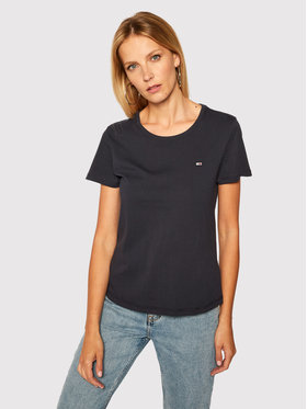 Tommy Jeans Tommy Jeans T-Shirt Tjw Soft Jersey DW0DW06901 Tmavomodrá Regular Fit