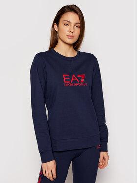 EA7 Emporio Armani EA7 Emporio Armani Majica dugih rukava 8NTM39 TJ31Z 0541 Tamnoplava Regular Fit