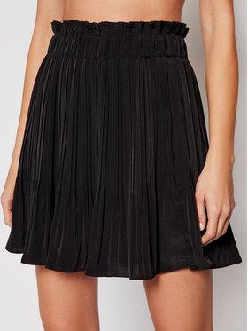 Guess Guess Plisovaná sukně Phoenix W1RD68 WDSS0 Černá Regular Fit