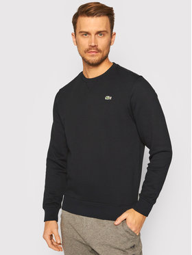 Lacoste Lacoste Bluza SH1505 Czarny Regular Fit