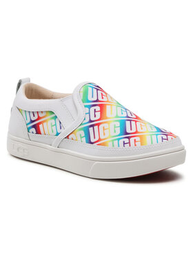 Ugg Ugg Sneakers aus Stoff K Caplan Slip-On Ugg 1107976K Weiß