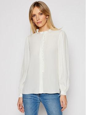 Pinko Pinko Риза Labile PE 21 BLK01 1G15T5 Y6WB Бял Regular Fit