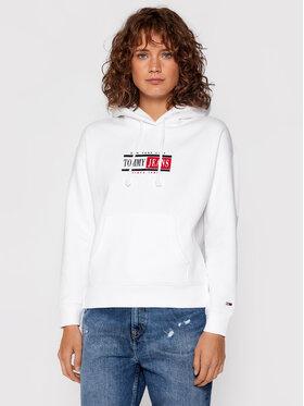 Tommy Jeans Tommy Jeans Felpa Tjw Timeless DW0DW11055 Bianco Regular Fit